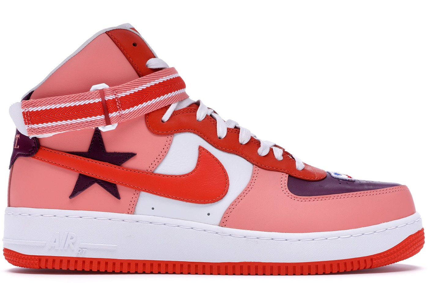 brand new fb9be 51c69 Air Force 1 High Riccardo Tisci All-Star 2018 (Pink) - AQ3366-601