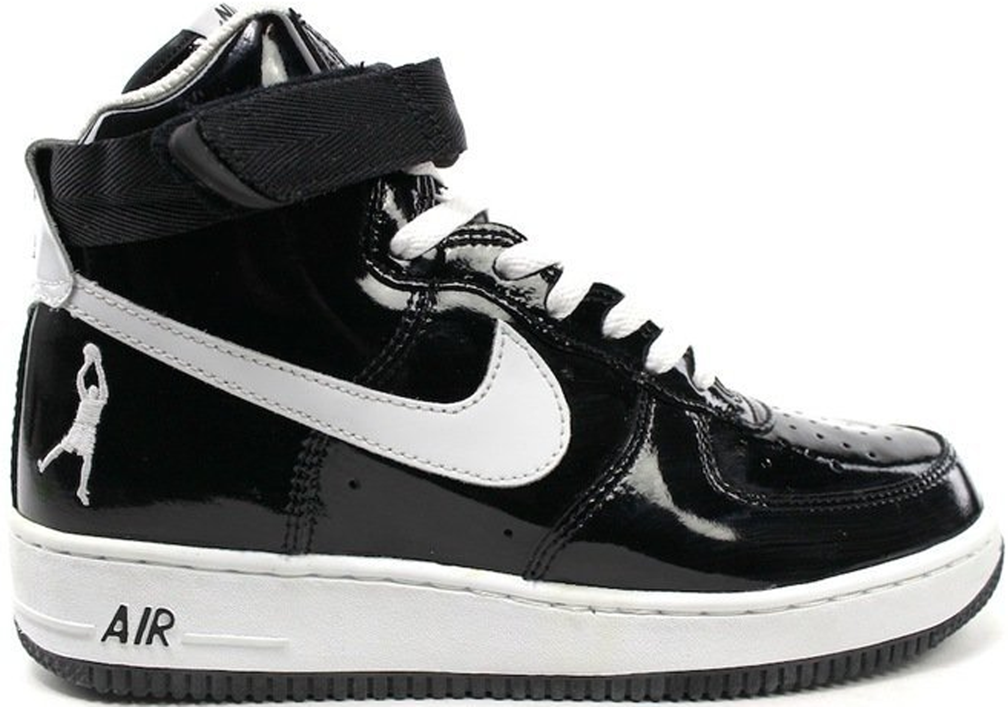 Air Force 1 High Sheed Black Patent