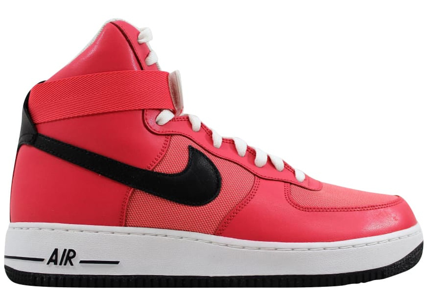 Nike Air Force 1 High Solar Red Black White W 334031 601
