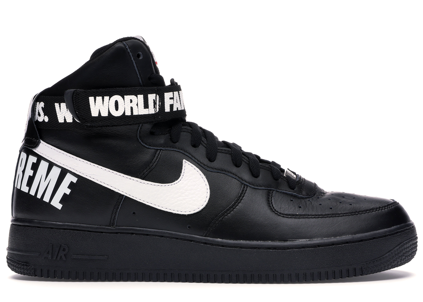 Nike Air Force 1 High Supreme World Famous Black