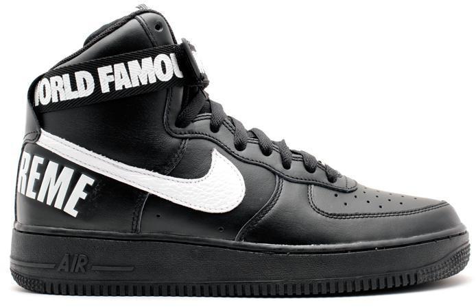 nike air force in black