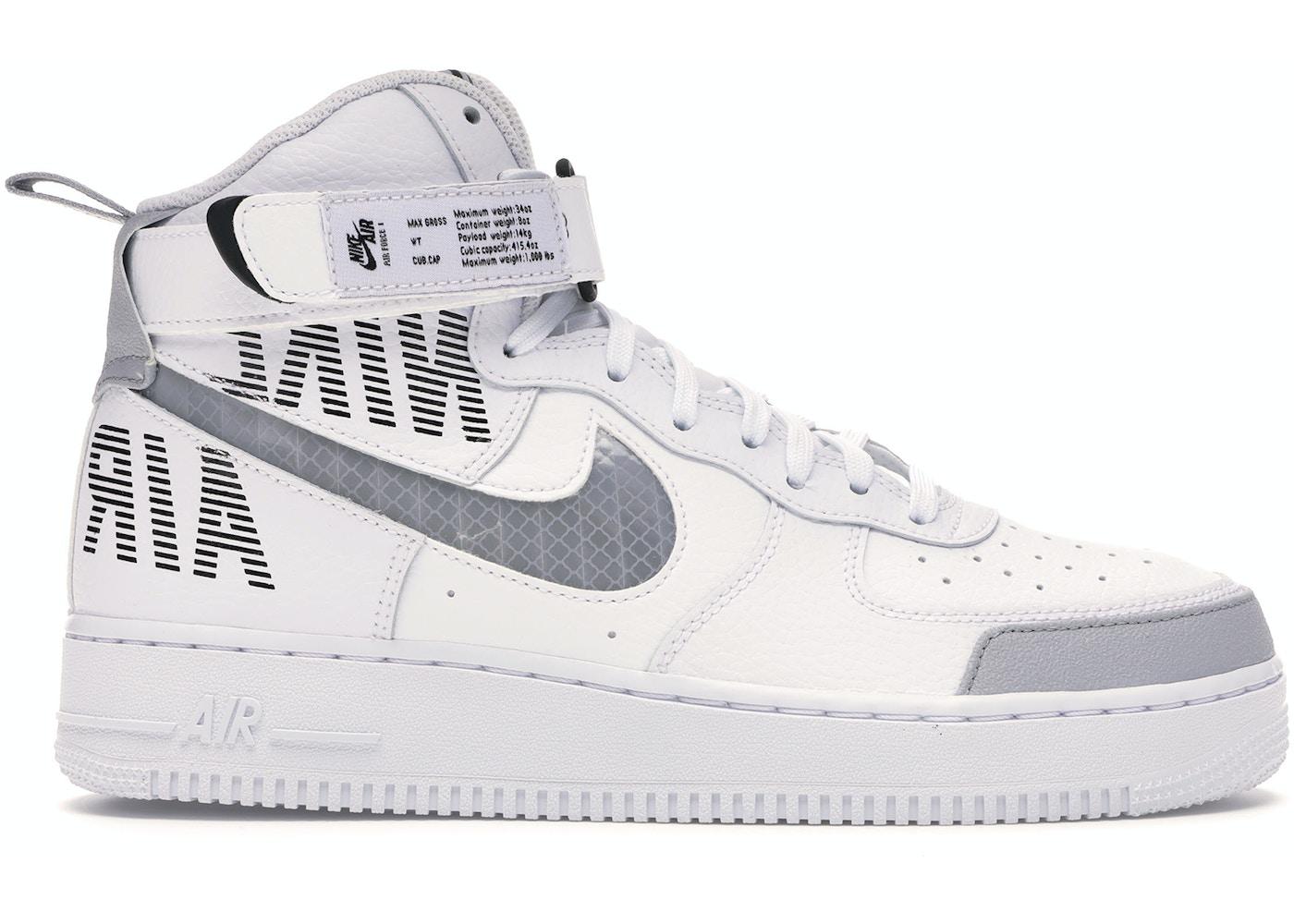 Nike Air Force 1 High Under Construction White Cq0449 100