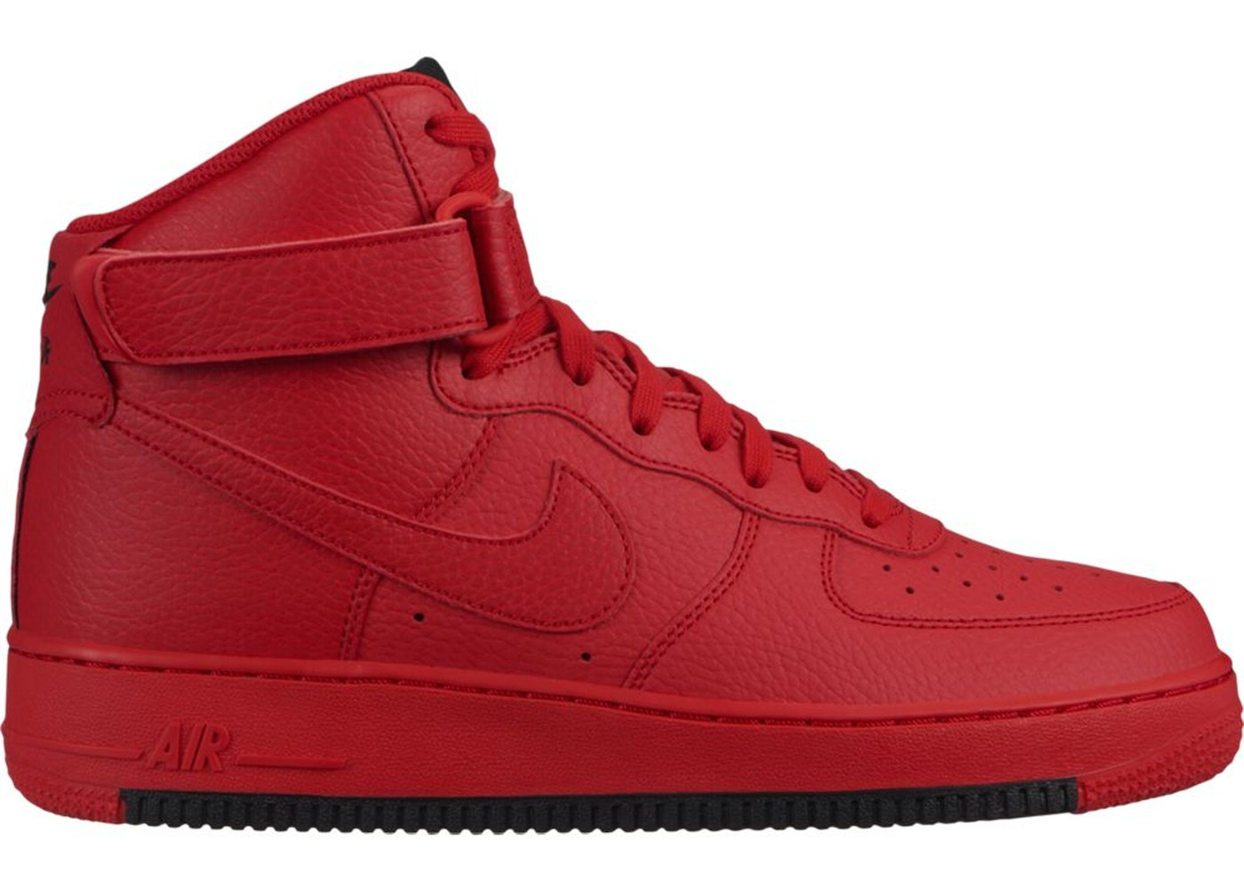 Air Force 1 High University Red Black