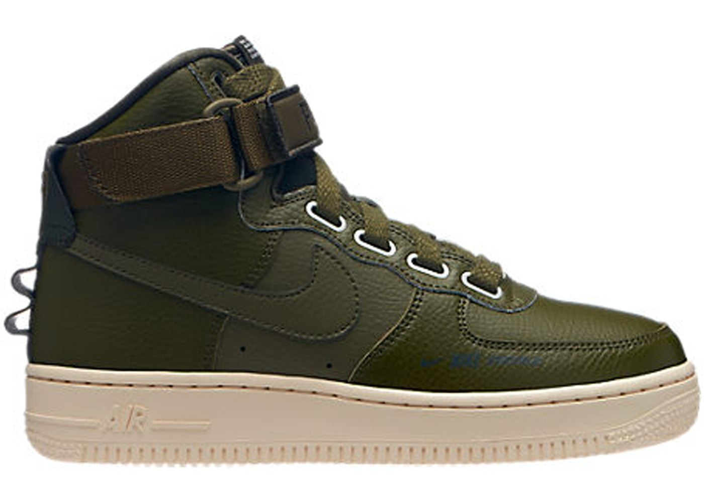 Air Force 1 High Utility Olive Canvas (W)