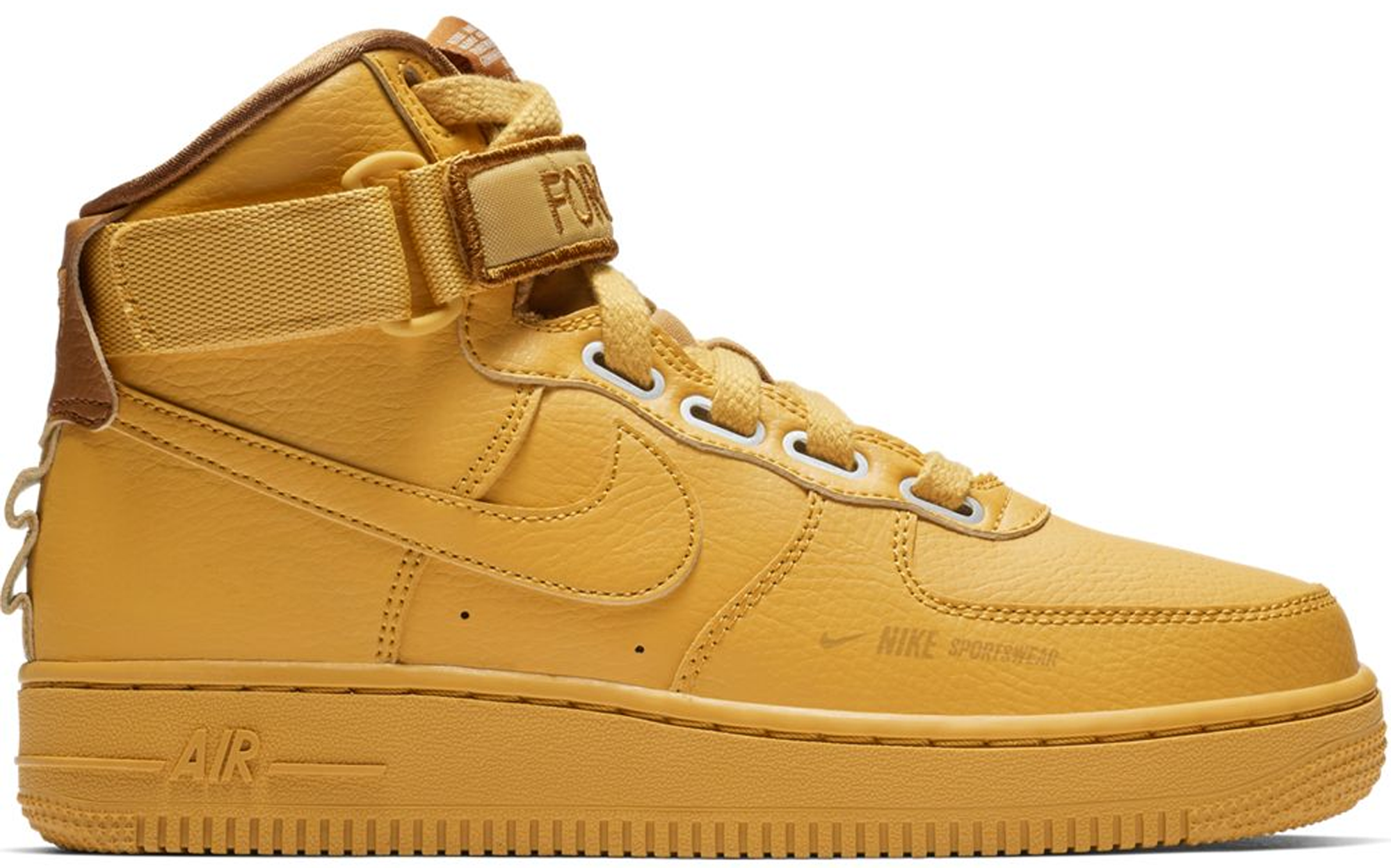 air force 1 high top yellow