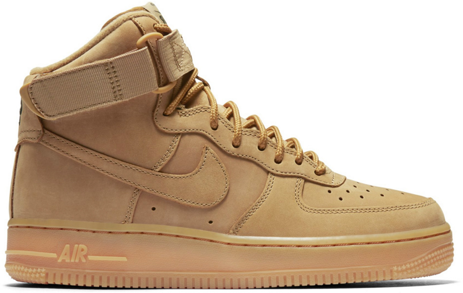 nike air force 1 wheat high running online. Black Bedroom Furniture Sets. Home Design Ideas