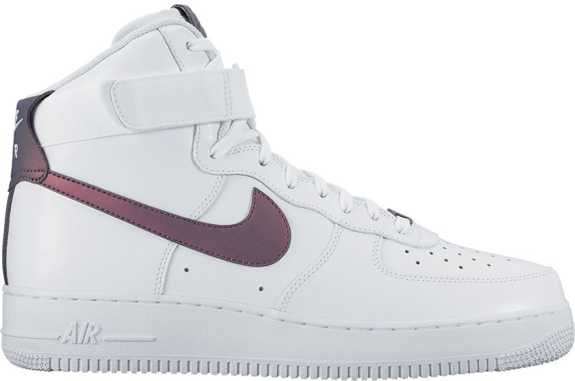 Nike Air Force 1 High White Multi-Color
