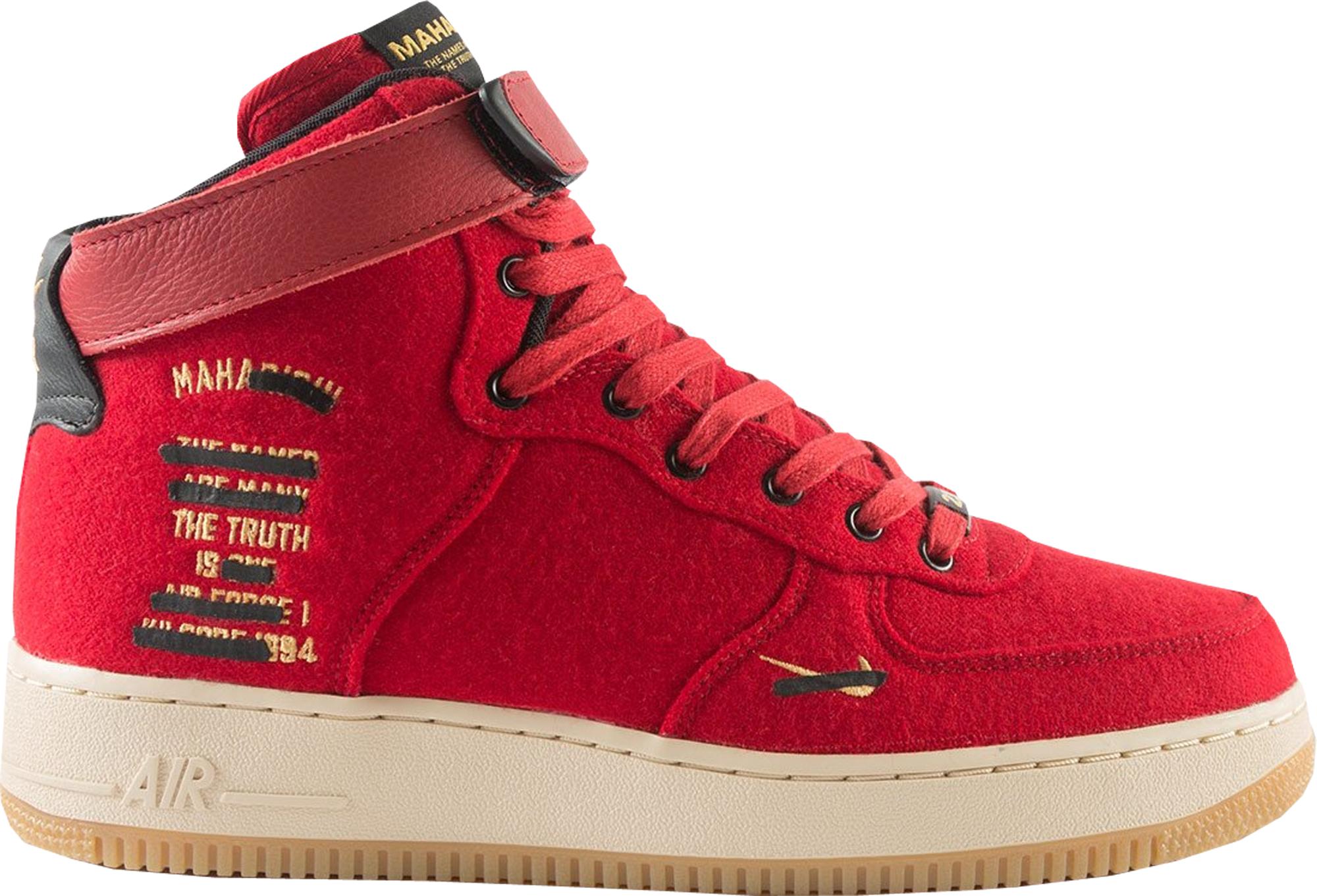 Nike Air Force 1 High maharishi Red