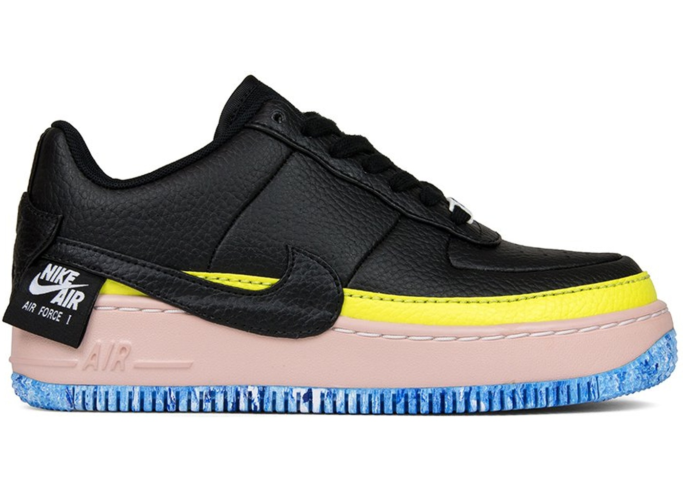 Air Force 1 Jester XX Black Sonic Yellow Arctic Orange (W)