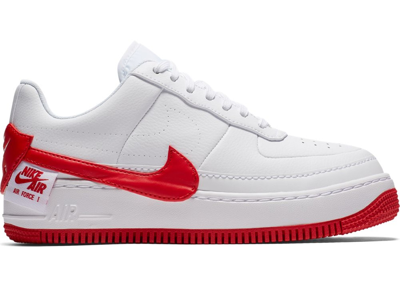 uk availability 1b095 dbad3 Air Force 1 Jester XX White University Red (W) — HypeAnalyzer