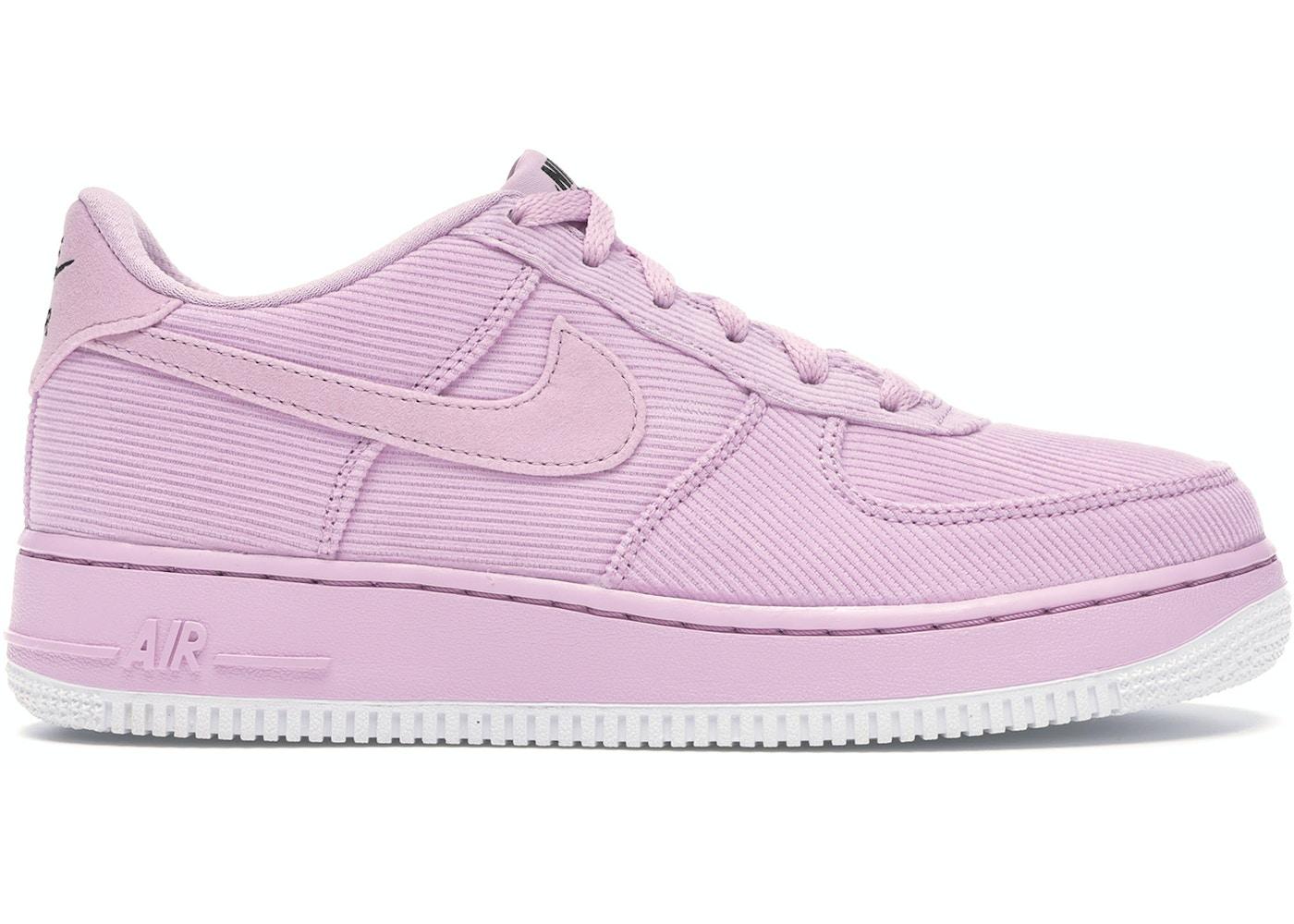 Nike Air Force 1 Lv8 Light Arctic Pink Gs Ar0736 600