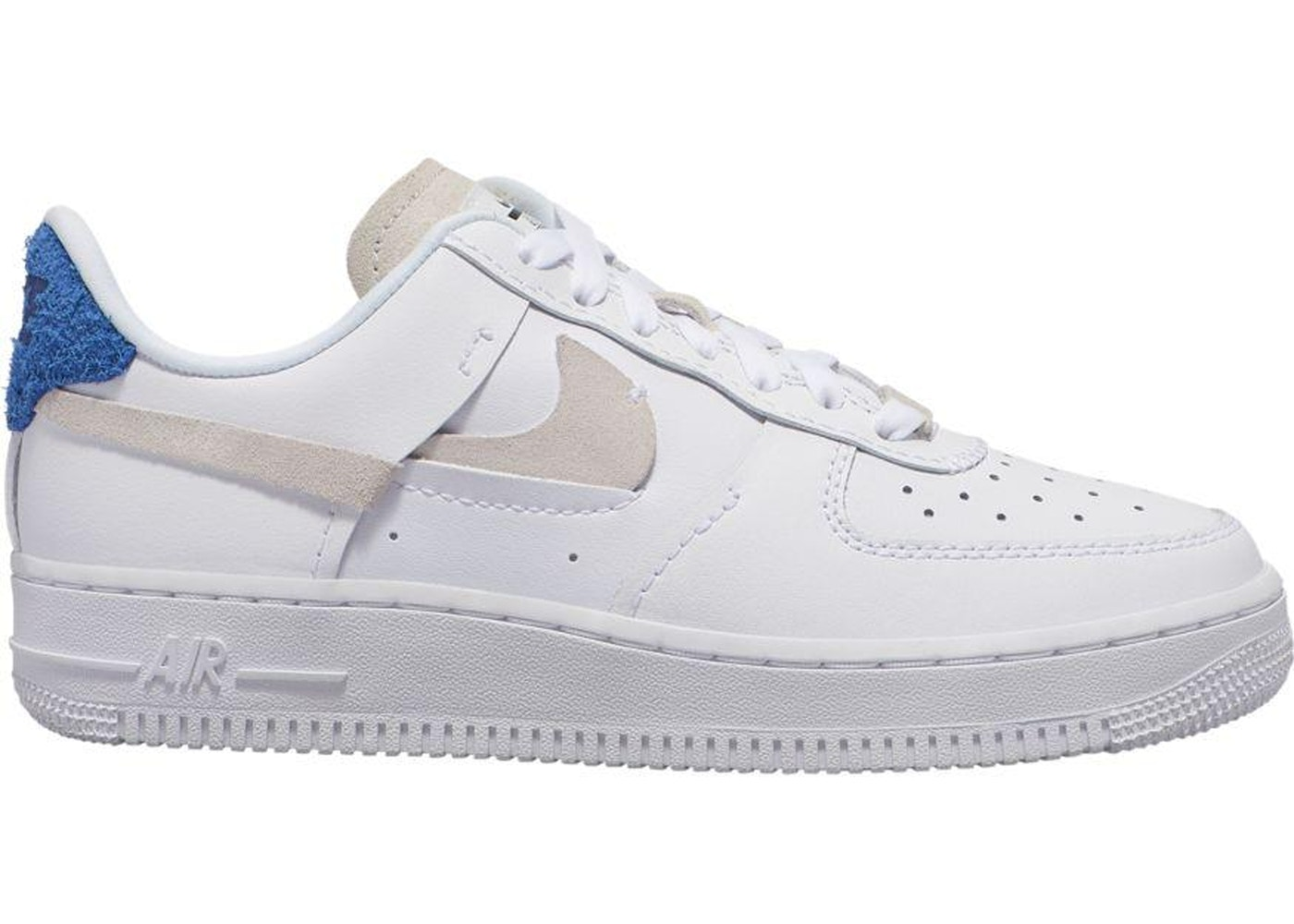Tenis Blanco Azul Nike Air Force 1.07 3