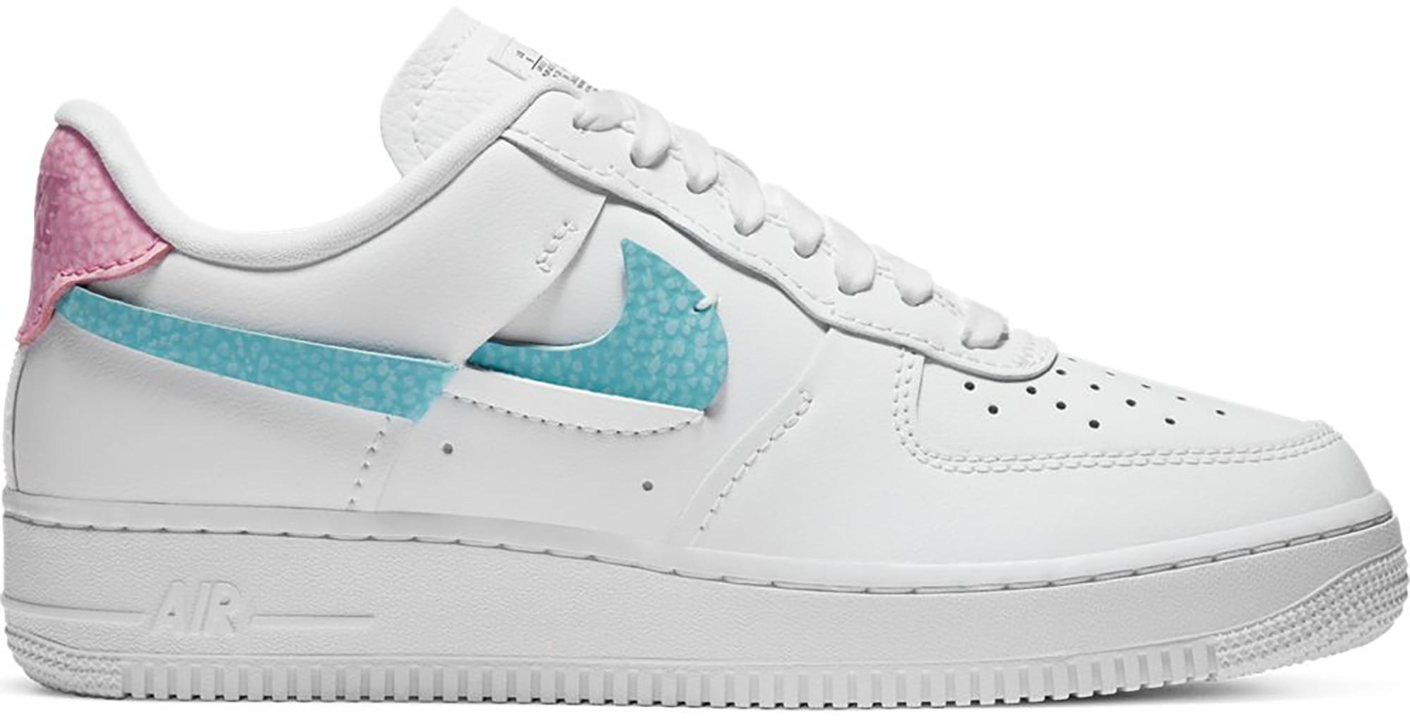 air force 1 white and pink