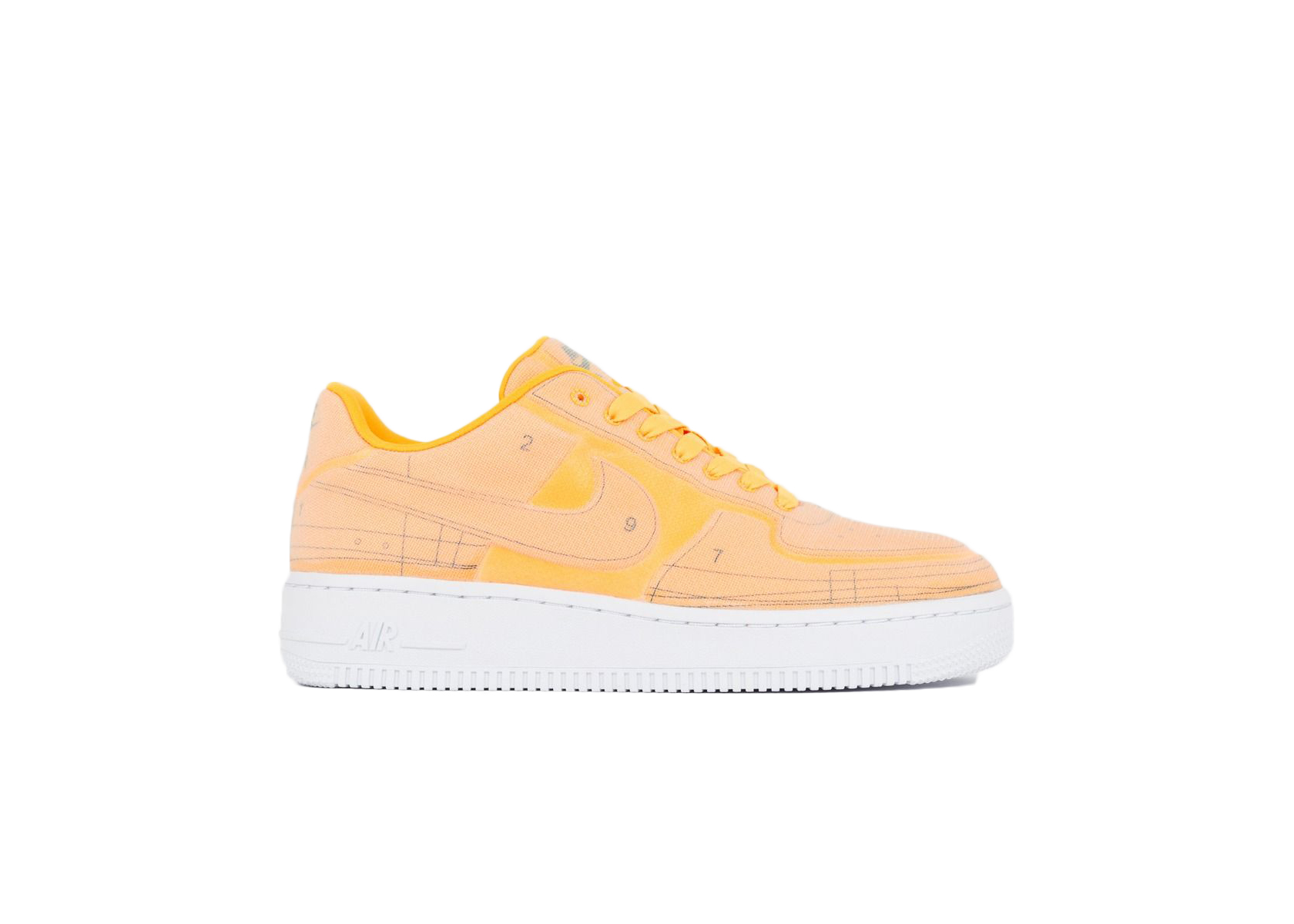 Nike Air Force 1 Low 07 LX Blueprint Laser Orange (W)