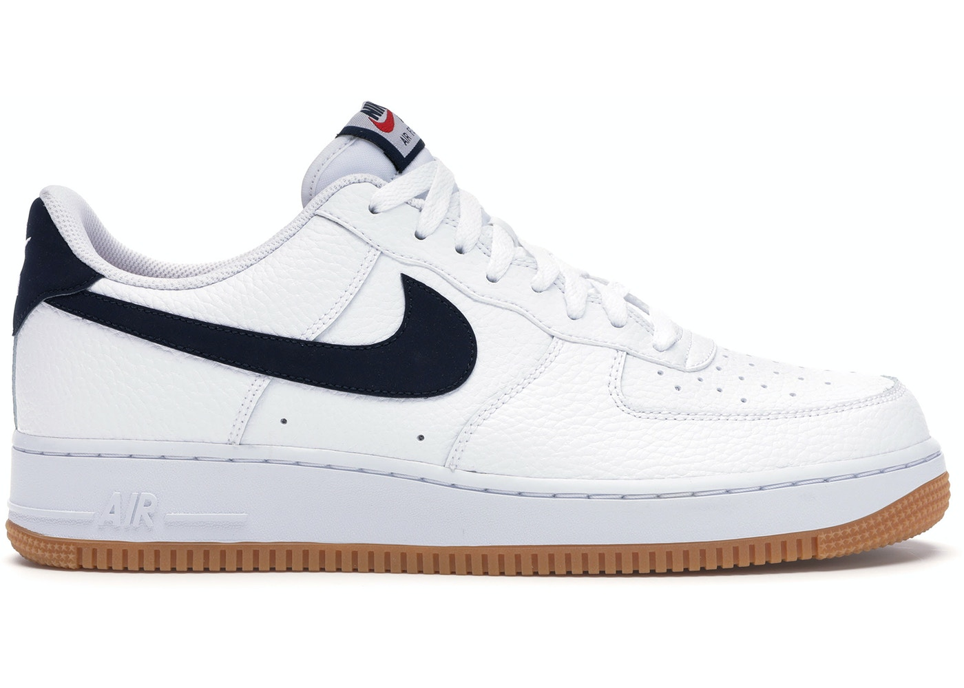 Nike Air Force 1 Low 07 White Obsidian Ci0057 100