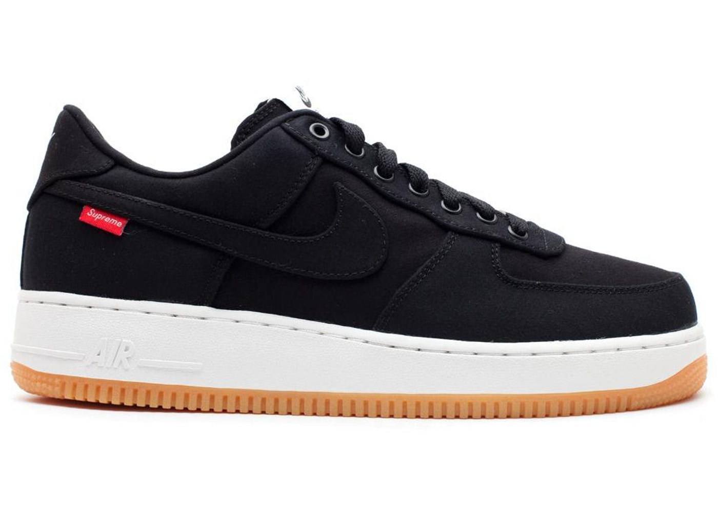 df4b83842fd94 Air Force 1 Low Supreme Black - 573488-090