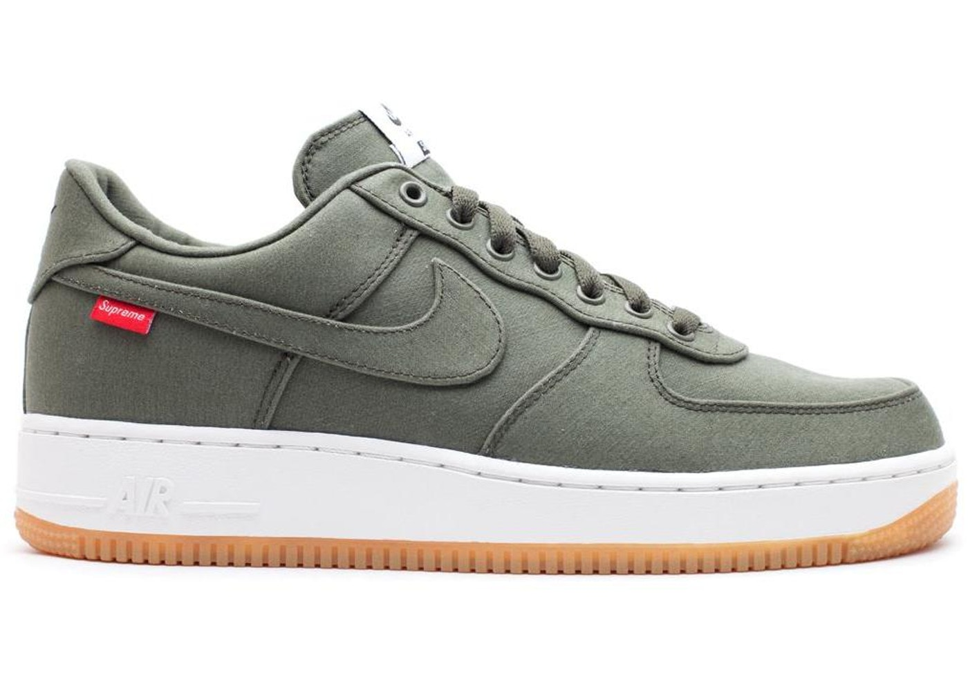 official photos a37f5 4c954 Air Force 1 Low Supreme Olive - 573488-300