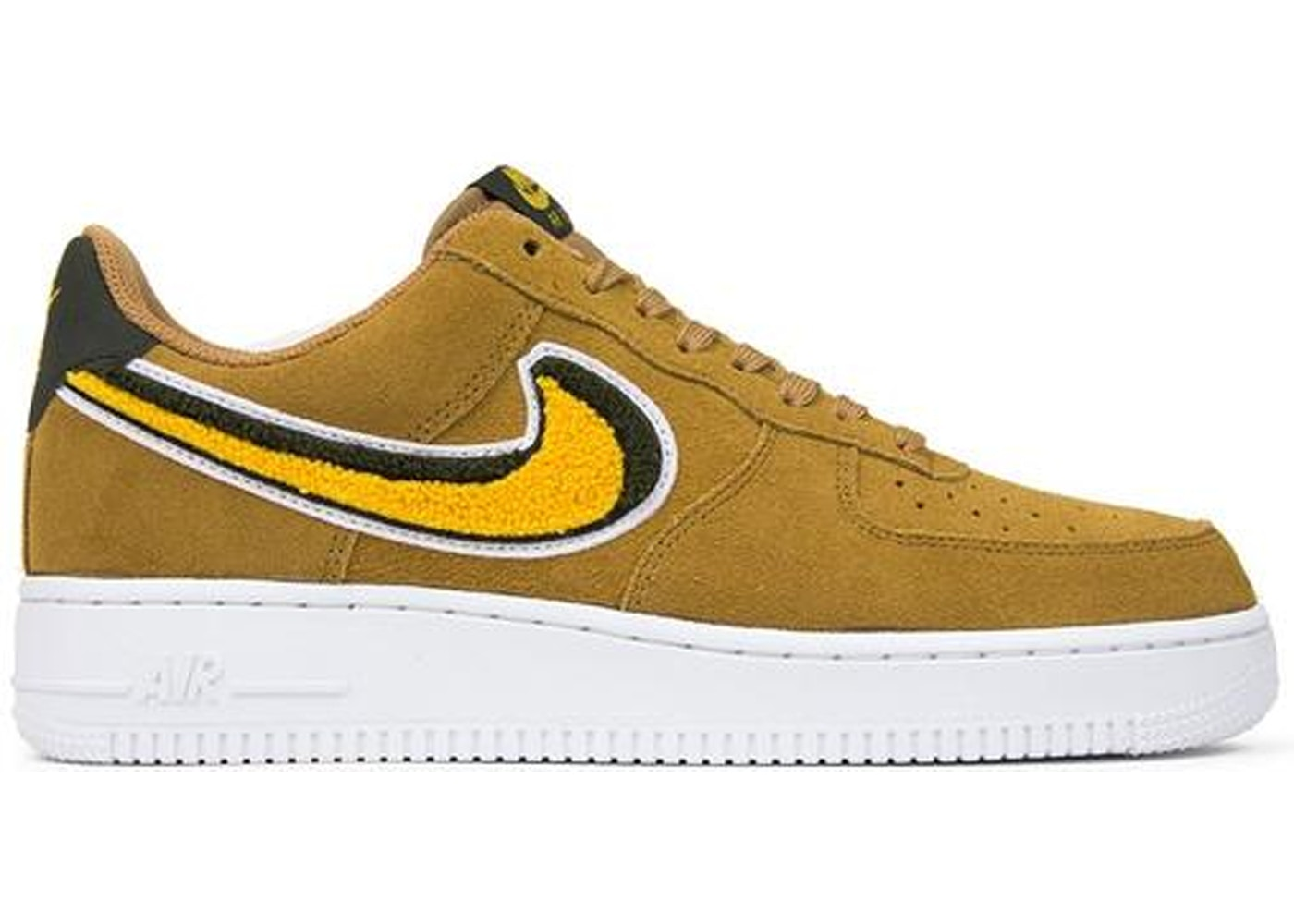 Nike Air Force 1 Low 3D Chenille Swoosh Muted Bronze
