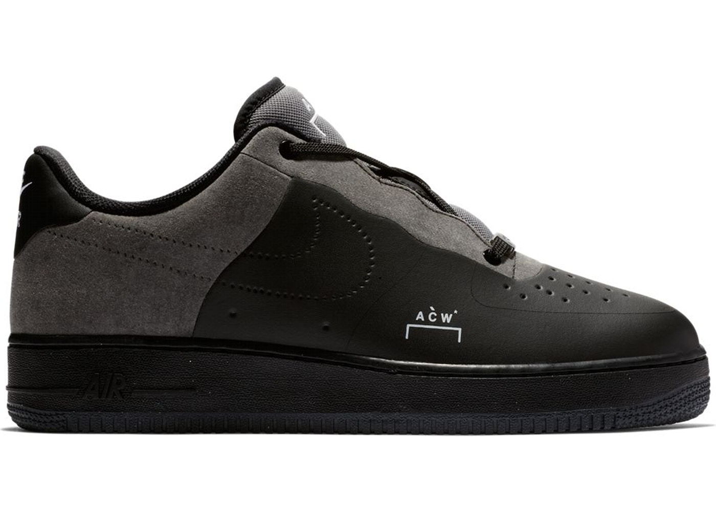 nike air force 1 low heren grey