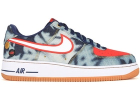 Nike Air Force 1 Low Acid Washed Denim