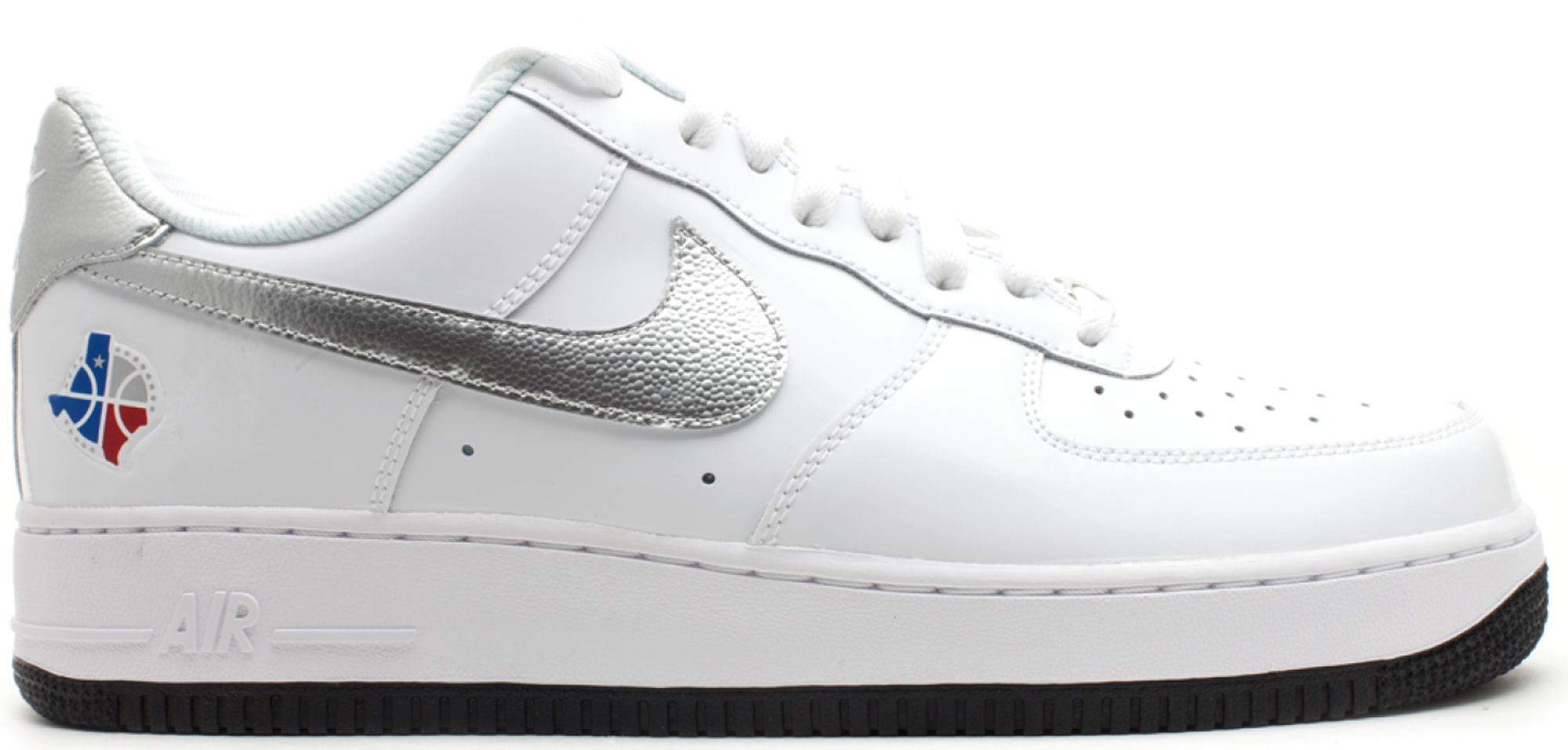 best loved 58c18 ce7d5 Air Force 1 Low All-Star 2010 White in White/Metallic Silver-Black