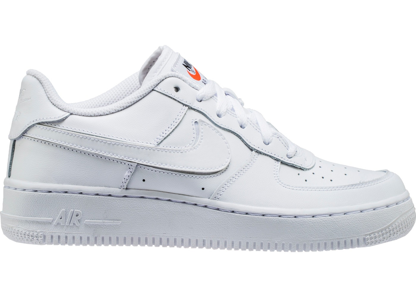 4ef9768ec5e1b9 Air Force 1 Low Swoosh Pack All-Star 2018 White (GS) - AQ9942-100