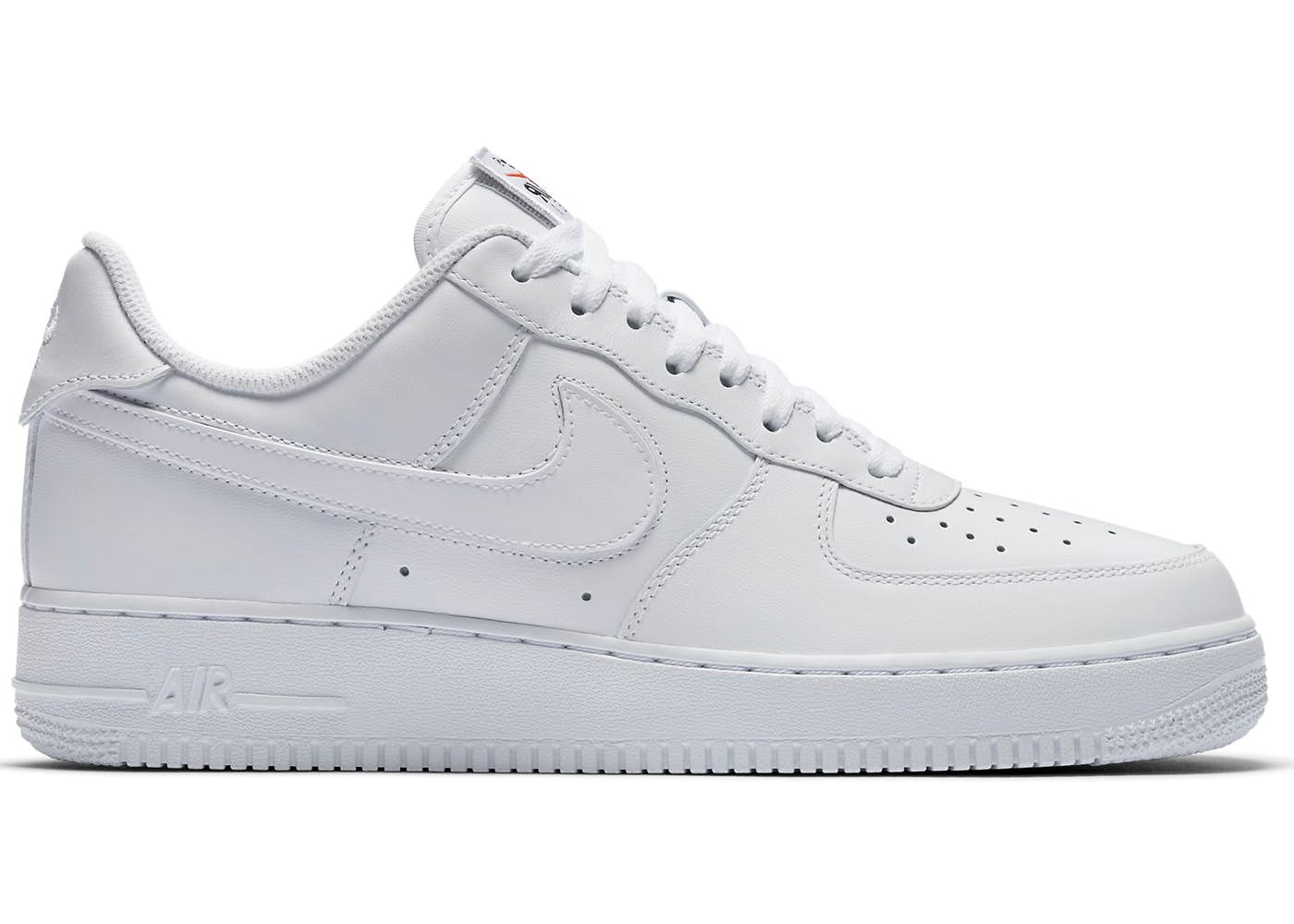 swoosh nike air force 1