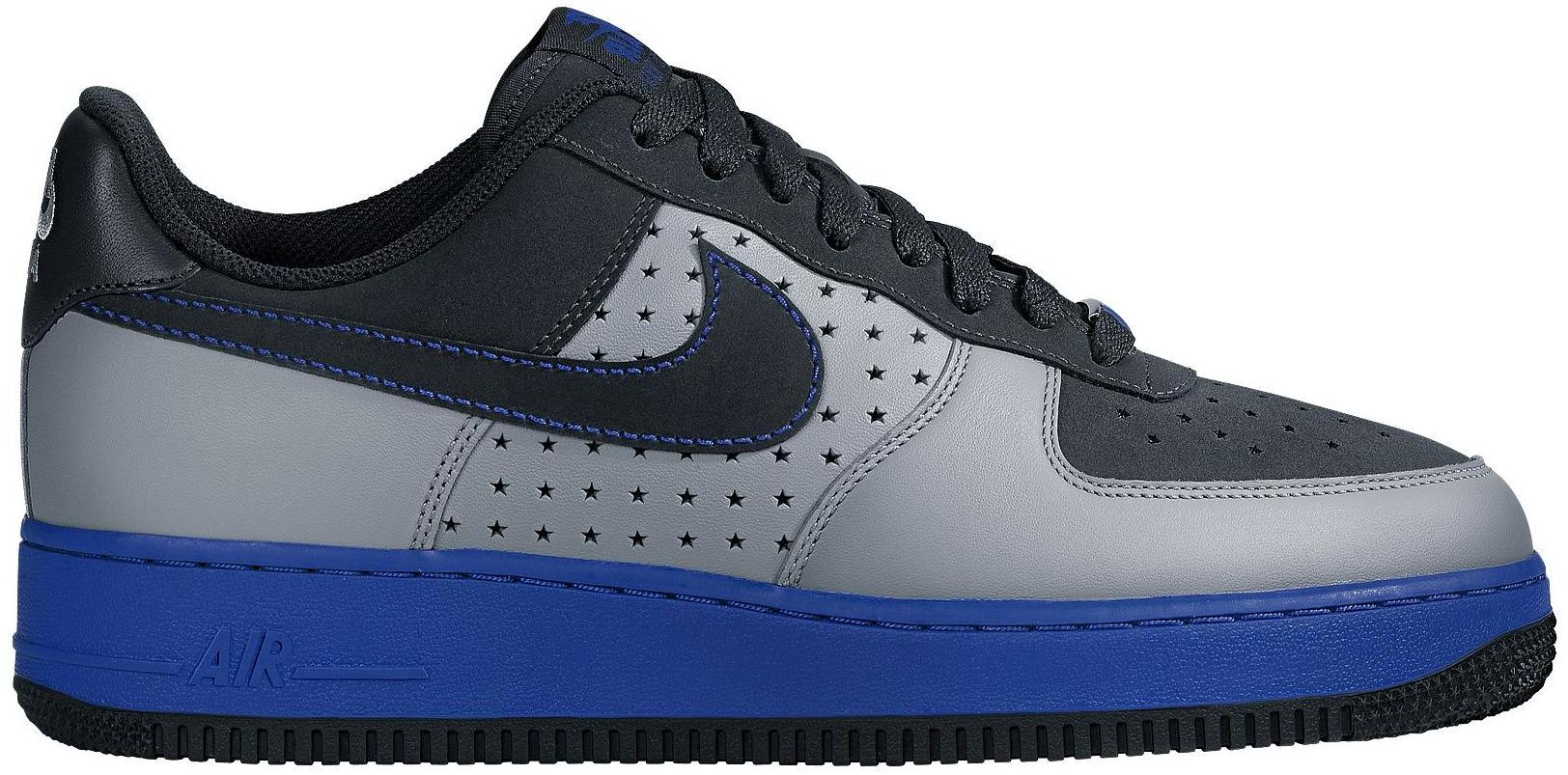 Air Force 1 Low Anthracite Varsity Royal