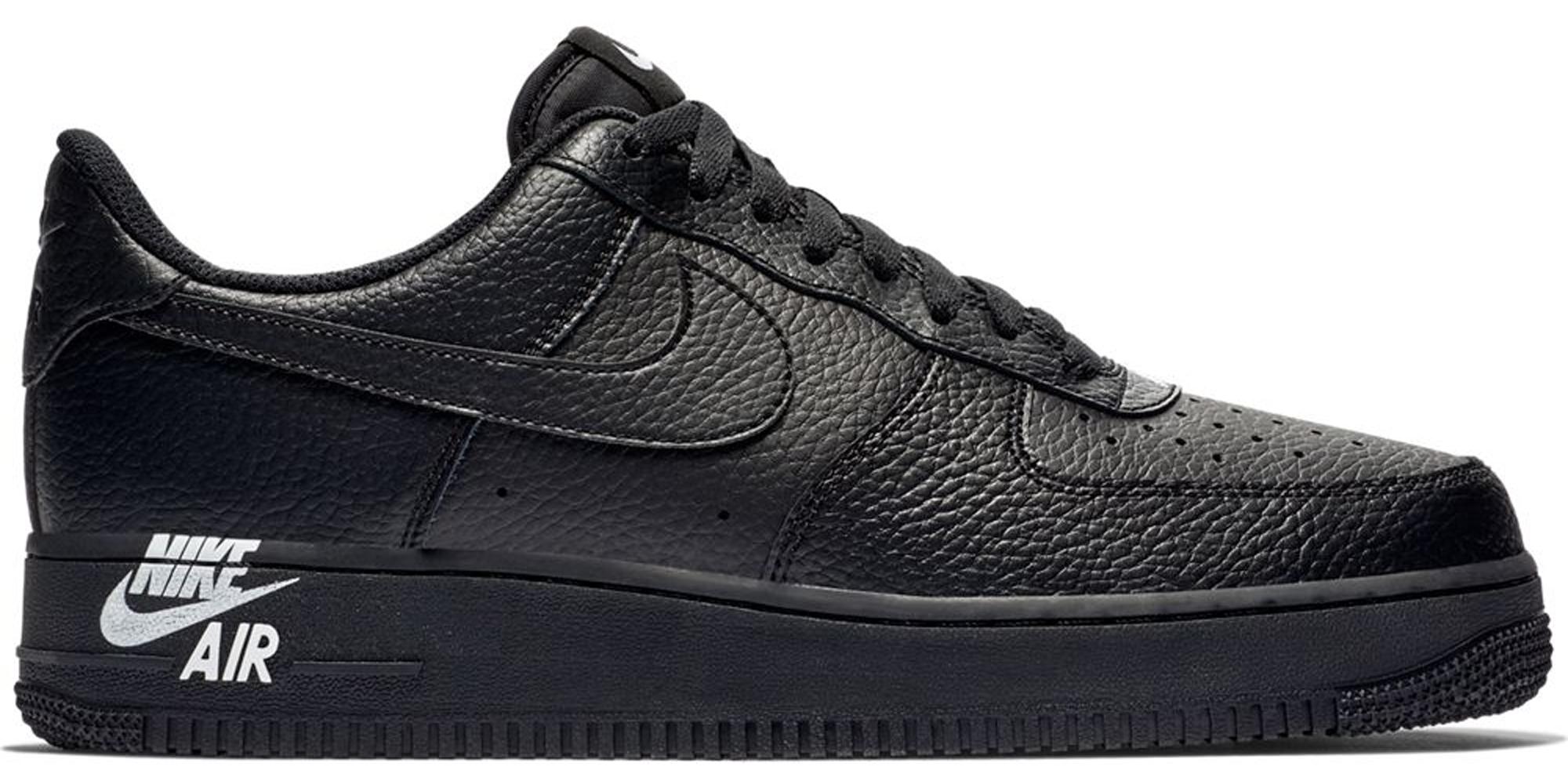 Nike Air Force 1 Low Black Black White