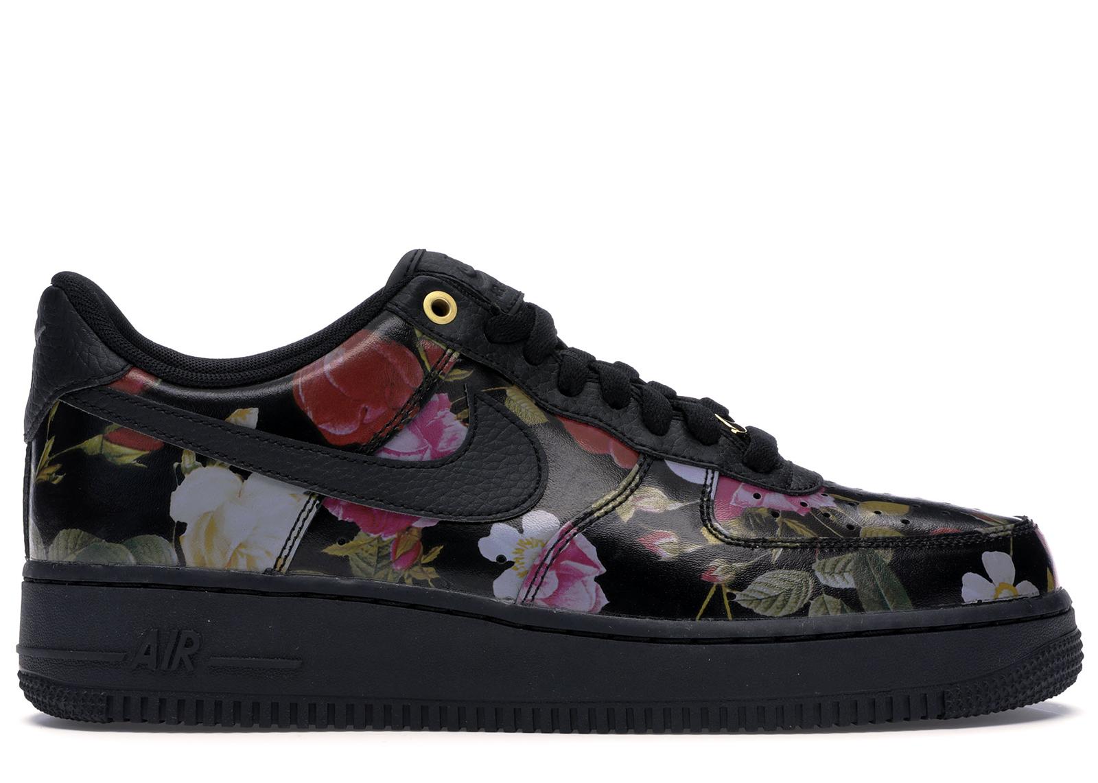 Nike Air Force 1 Low Black Floral (W