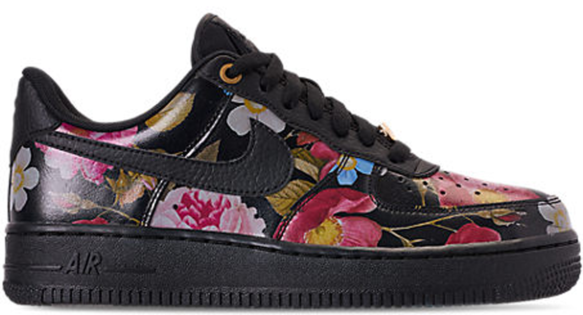 Air Force 1 Low Black Floral (W)