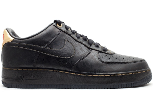 low priced 0d3a3 f8a6d Air Force 1 Low Black History Month (2011) - 453419-007