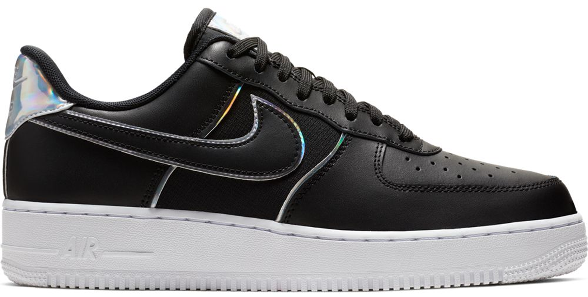 Nike Air Force 1 Low Black Iridescent