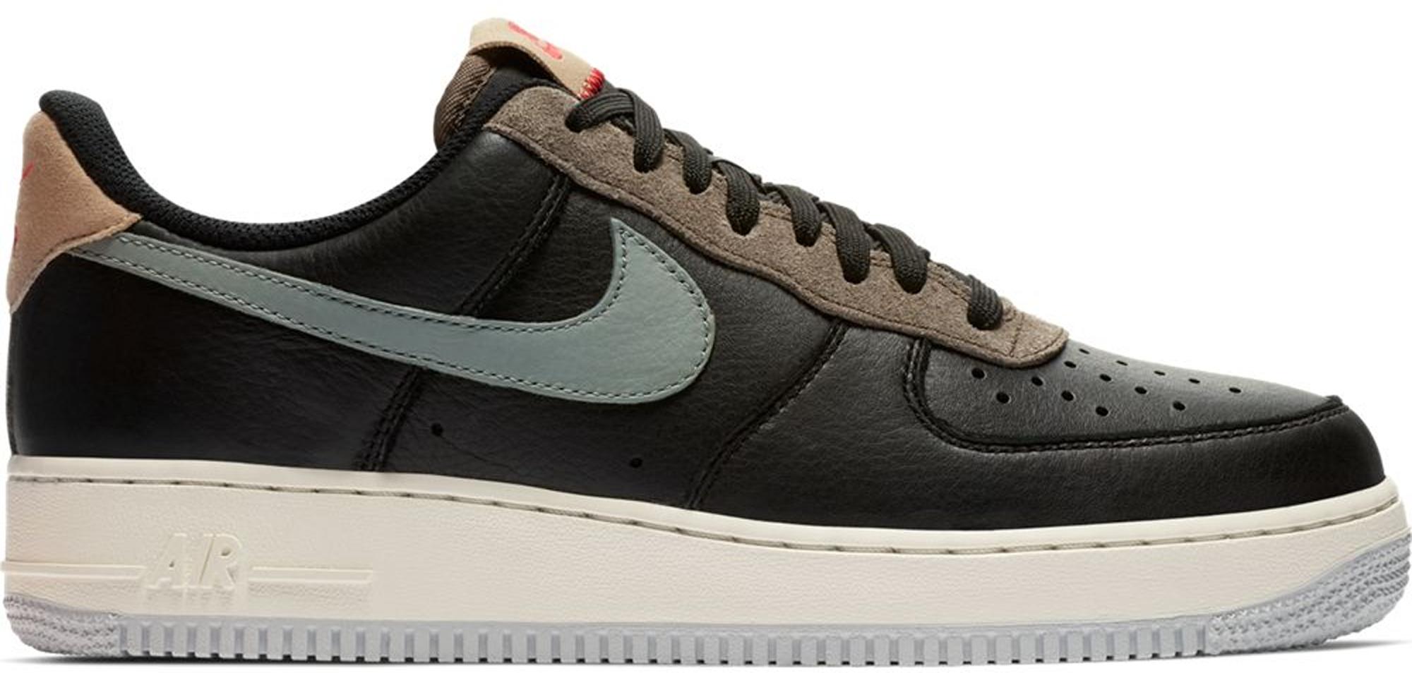 Nike Air Force 1 Low Black Mica Green