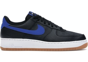 Nike Air Force 1 Low Black Royal Gum