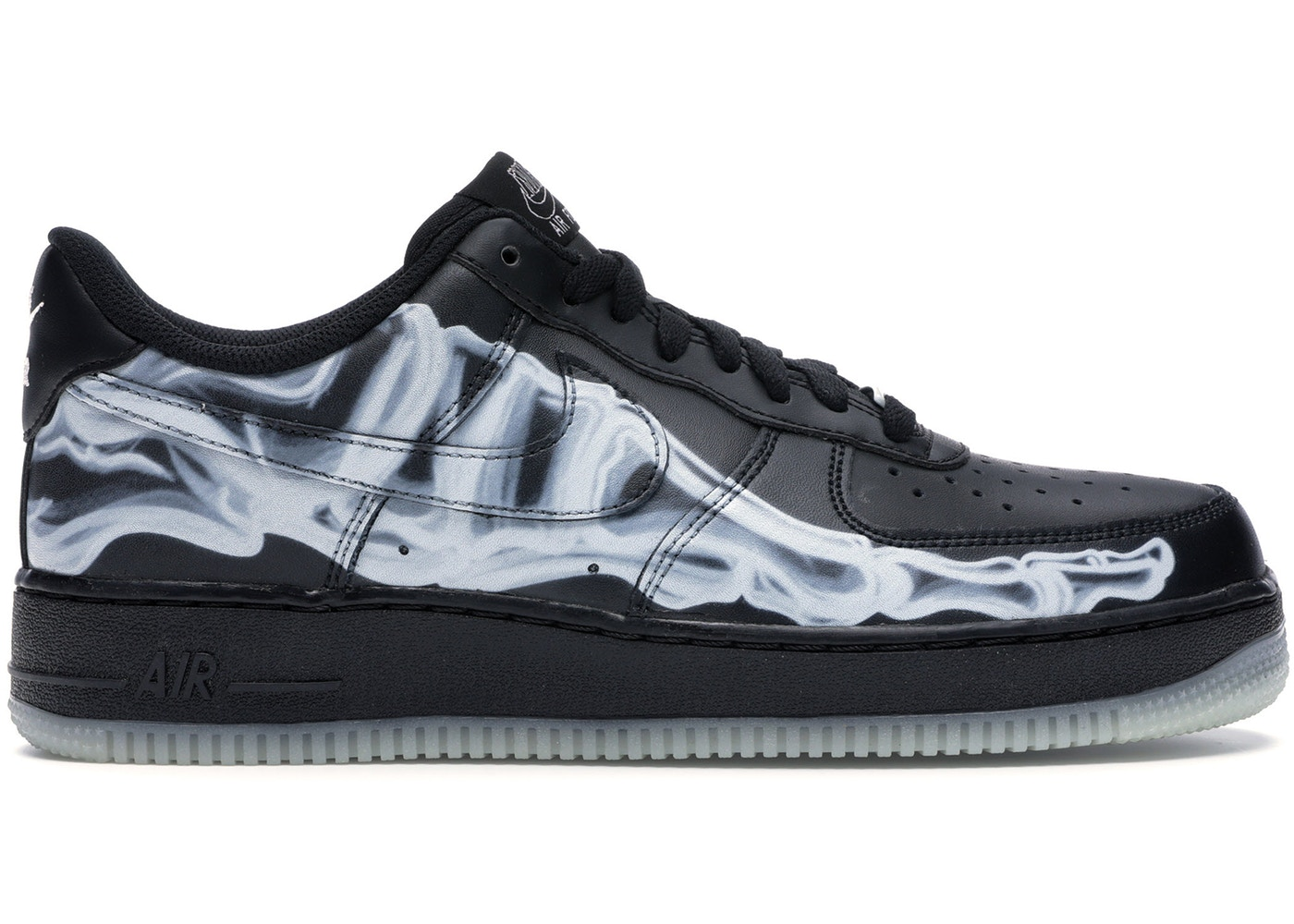 more photos best deals on reputable site Nike Air Force 1 Low Black Skeleton - BQ7541 001