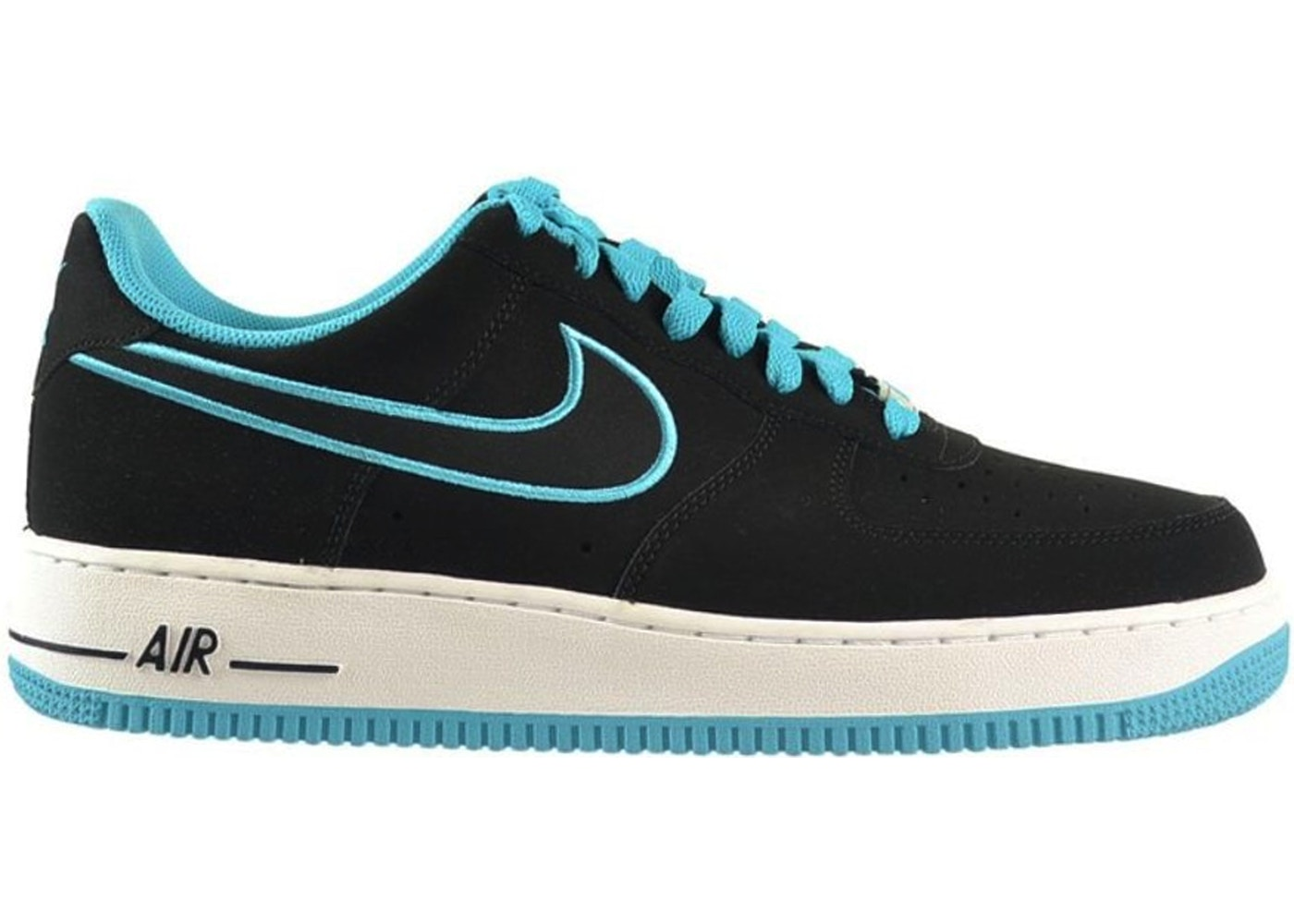 Air 1 Force Black Turquoise 488298 Low 011 CBdoexrQW