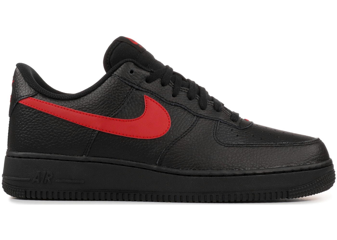 los angeles 3e2a6 a1d7e Air Force 1 Low Black University Red - AA4083-011