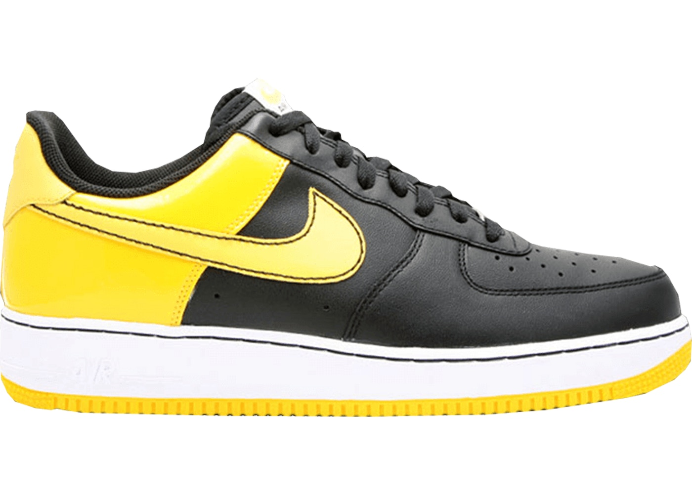 the best attitude 84e94 193d2 Sell. or Ask. Size --. View All Bids. Air Force 1 Low Black Varsity Maize