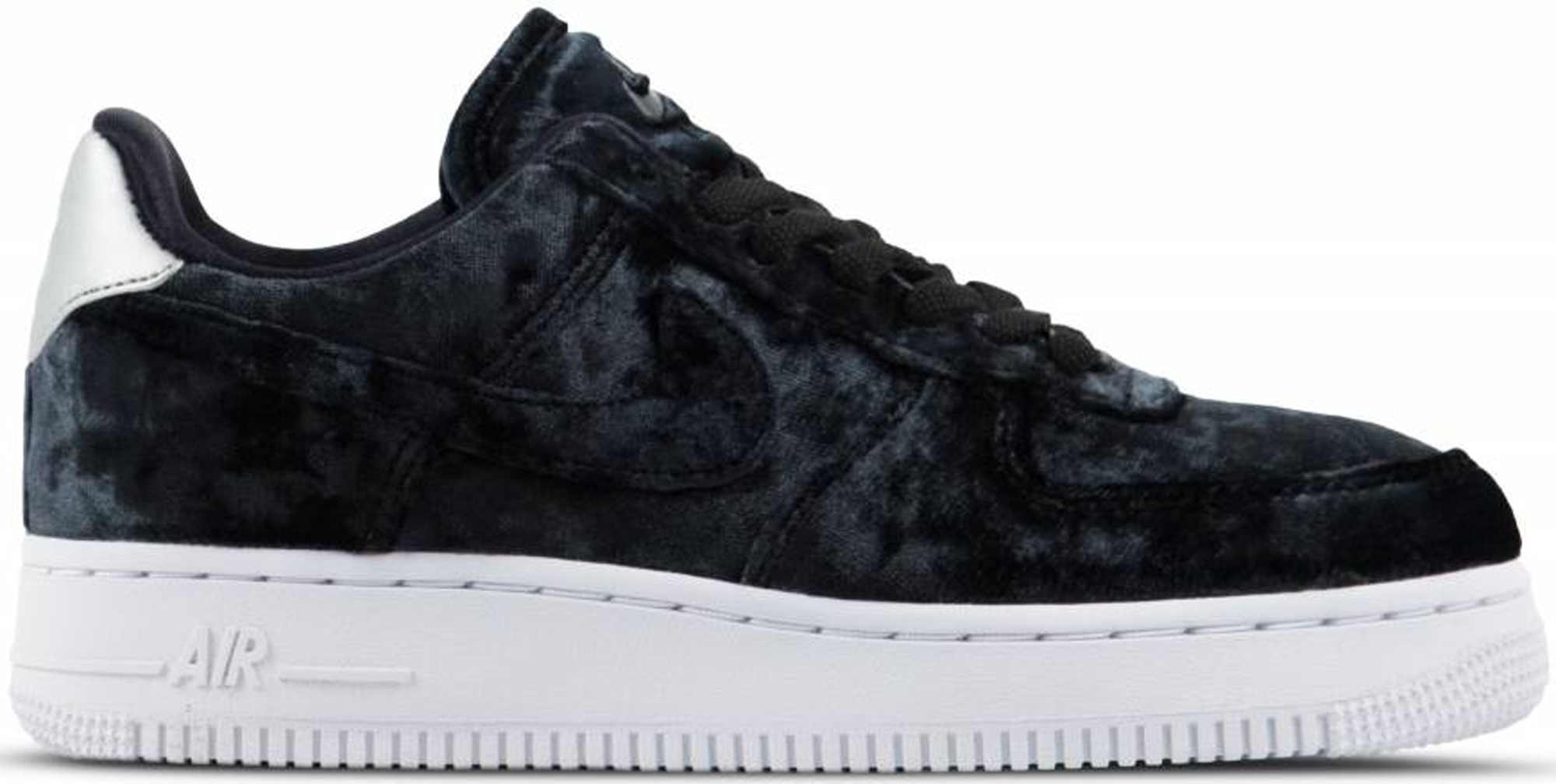Nike Air Force 1 Low Black Velvet (W