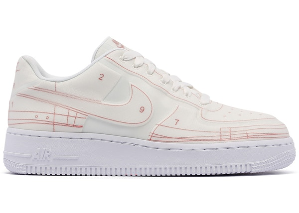 Nike Air Force 1 Low 07 LX Blueprint Summit White (W)
