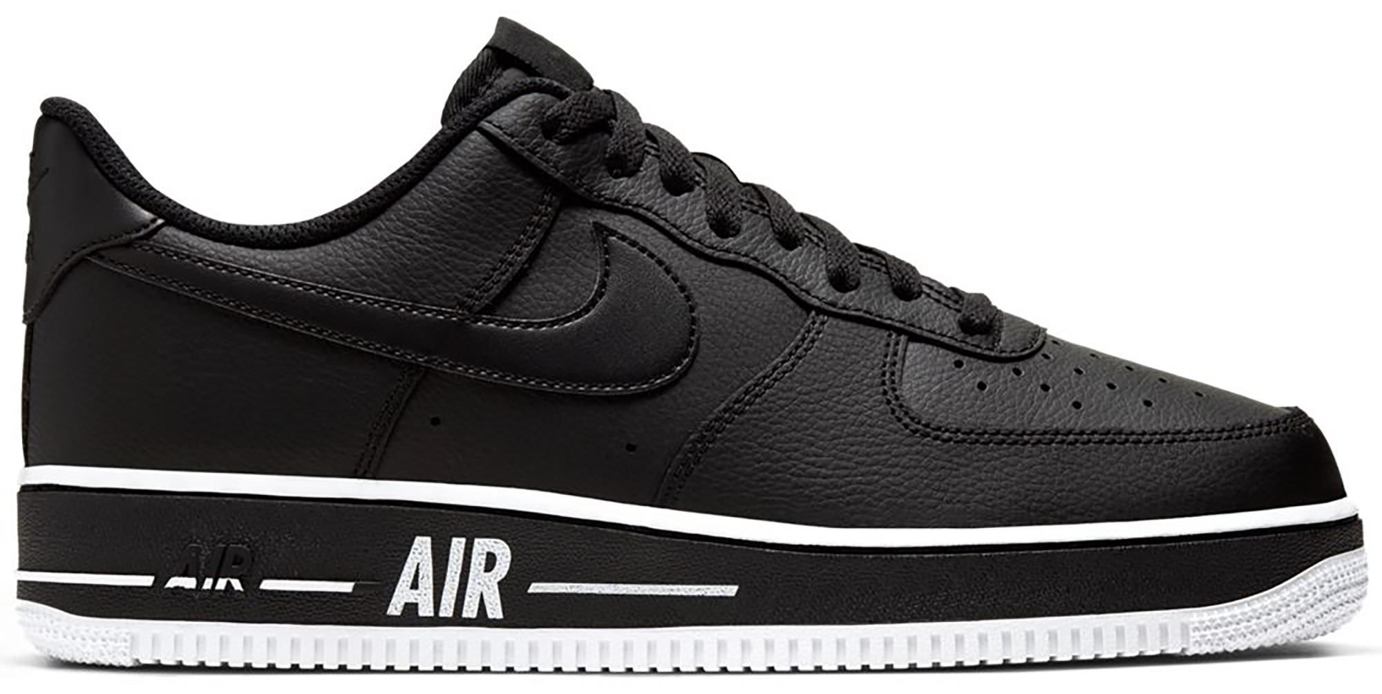 Nike Air Force 1 Low Bold Air Black