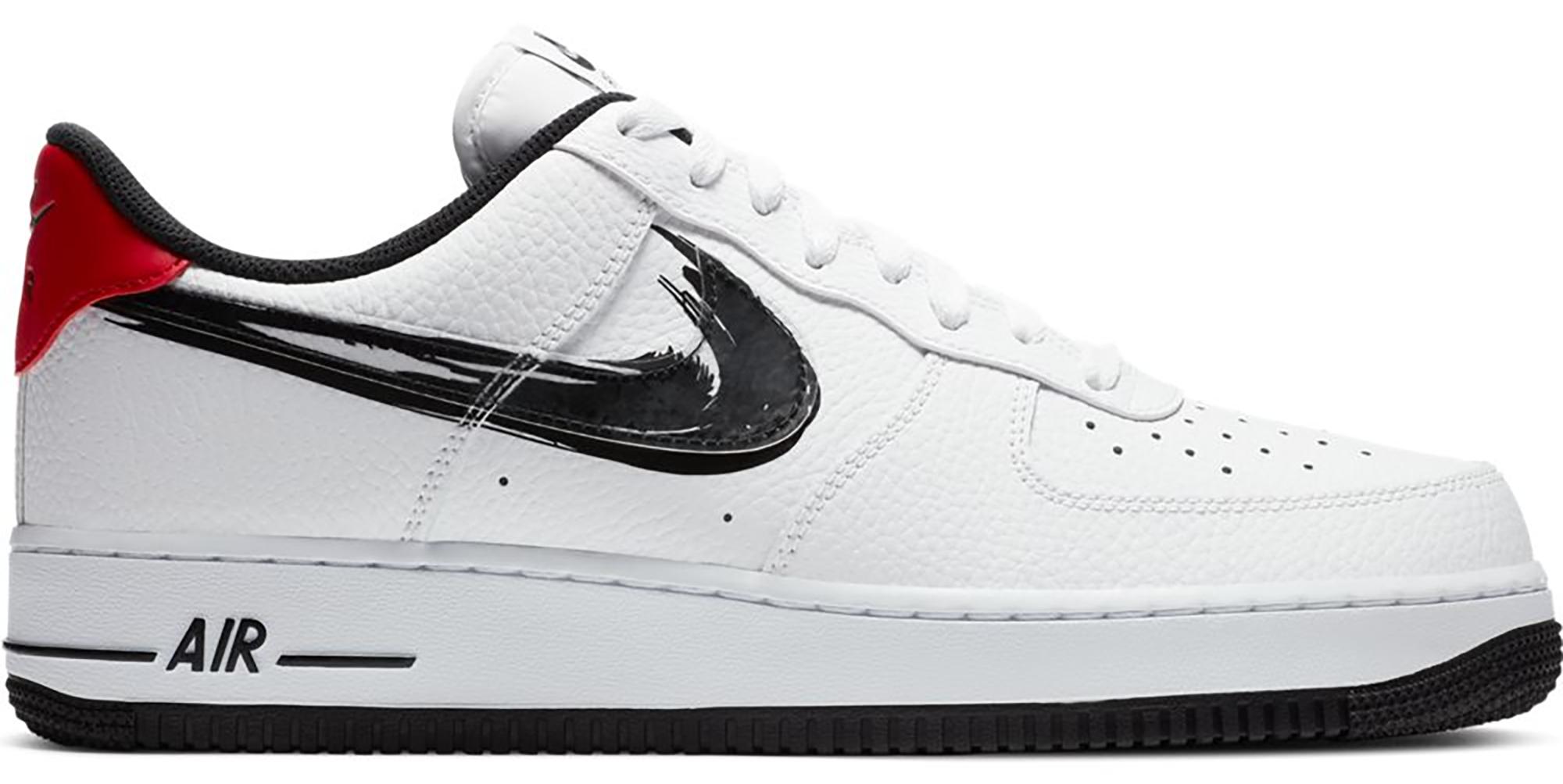 Nike Air Force 1 Low Brushstroke White