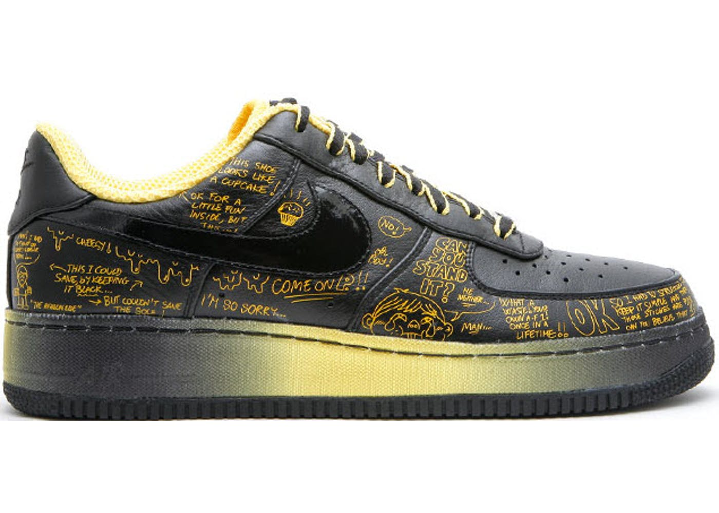 eaefe2bb1d6 ... Nike Livestrong x Busy P Air Force 1 Black Varsity Maize 2016 sneakers air  force 435ffa0  Air Force 1 Low Sup TZ LAF ...