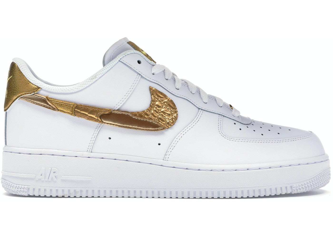 289f63e1137 Air Force 1 Low CR7 Golden Patchwork - AQ0666-100