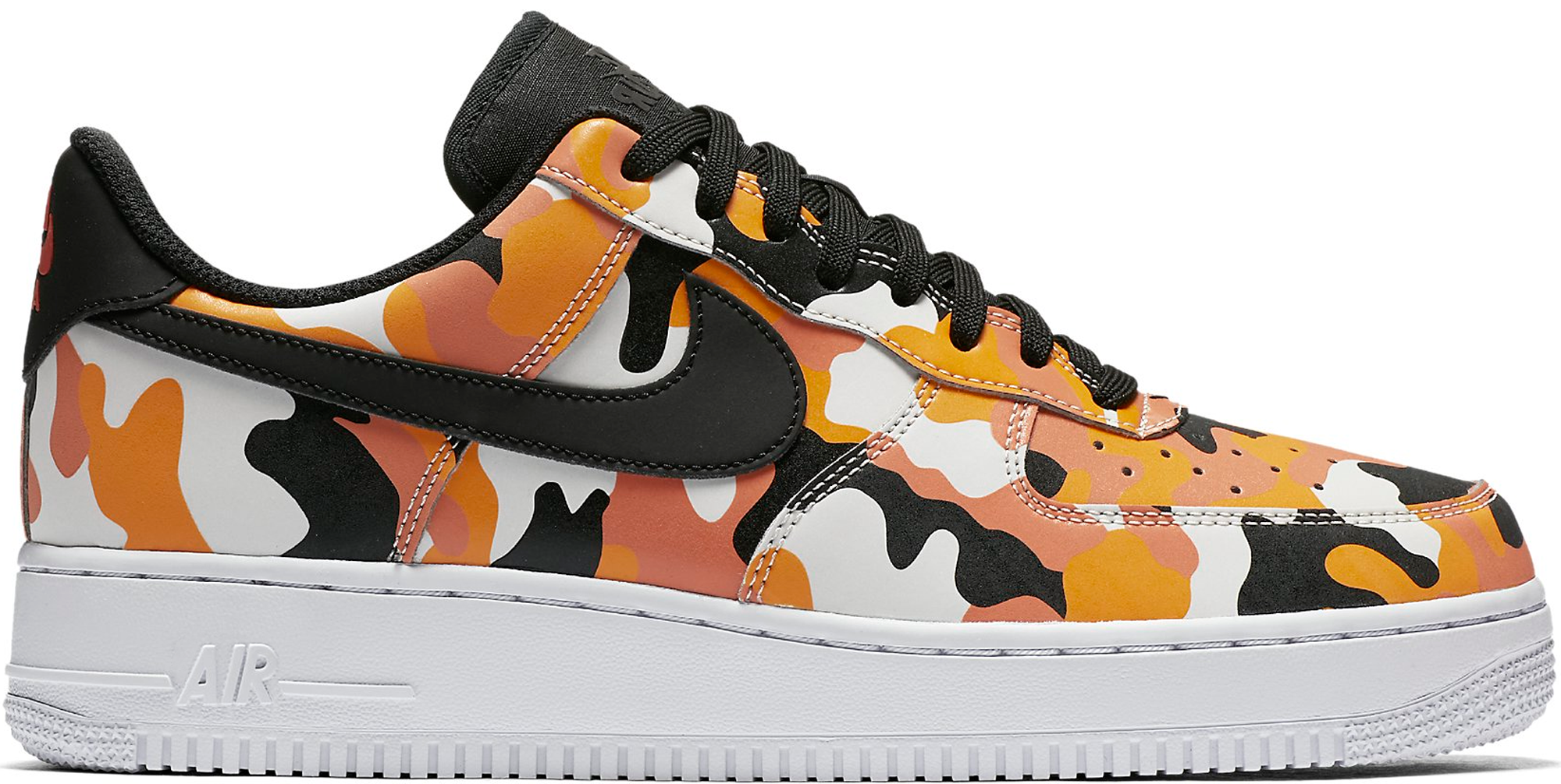 orange camo nike air force 1