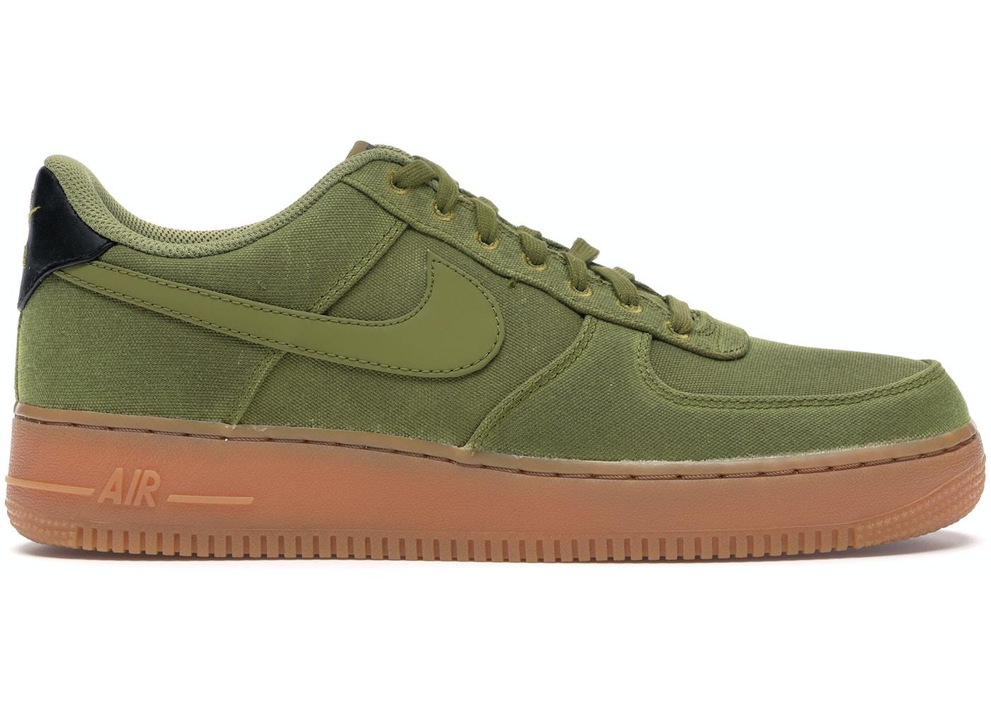 Elevado político Finito  Nike Air Force 1 Low '07 Camper Green Gum - AQ0117-300