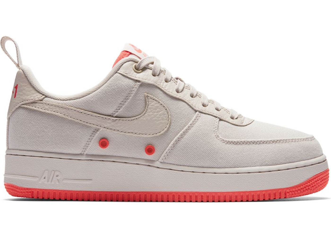 air force 1 canvas
