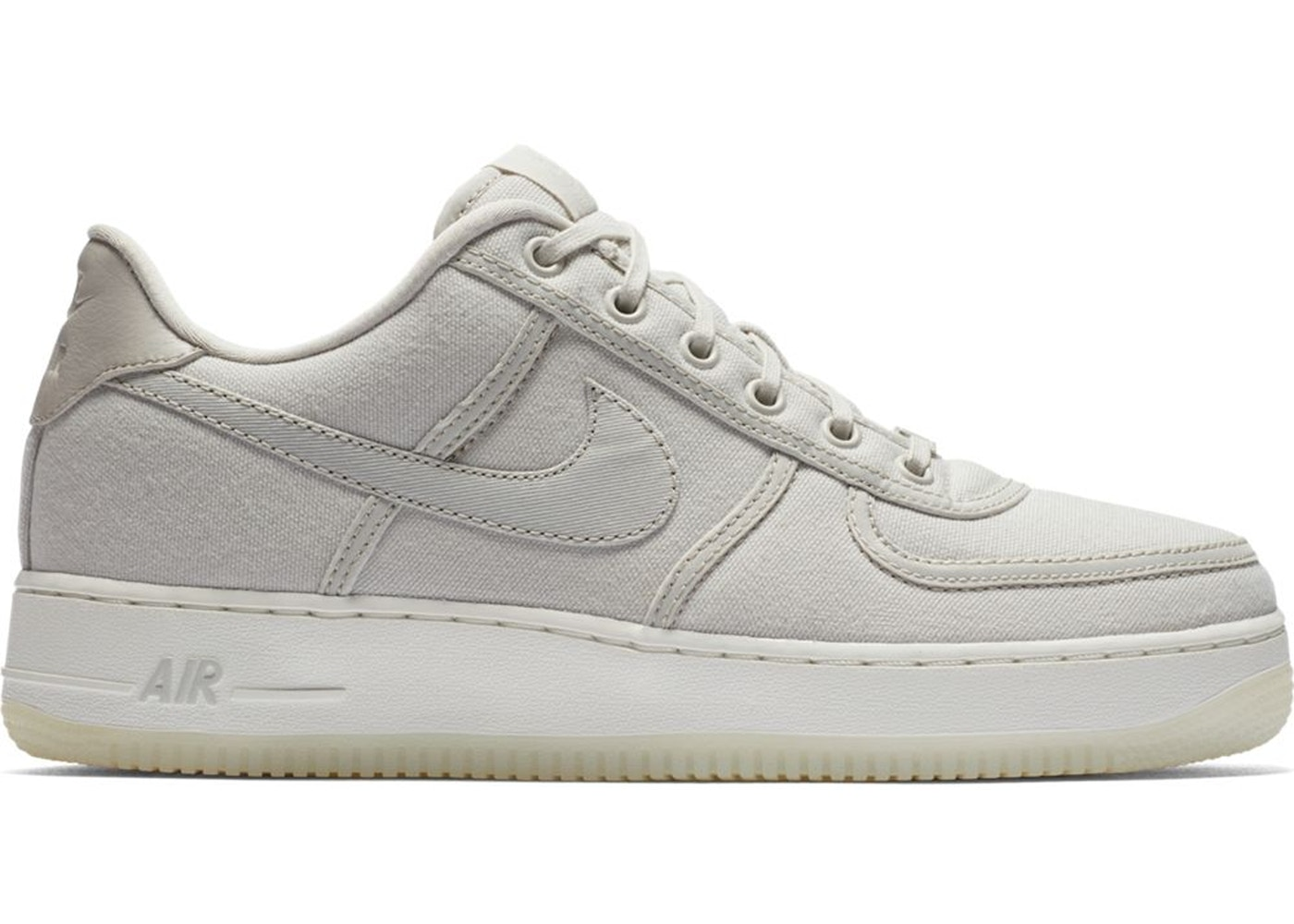 new concept b6a37 74077 Sell. or Ask. Size  6.5. View All Bids. Air Force 1 Low Canvas Light Bone