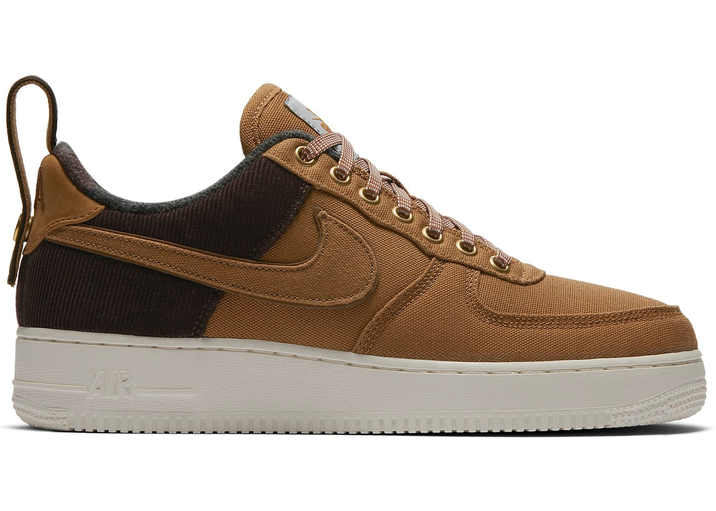 Nike Men's Air Force 1 07 Premium Low X Carhartt WIP (Ale